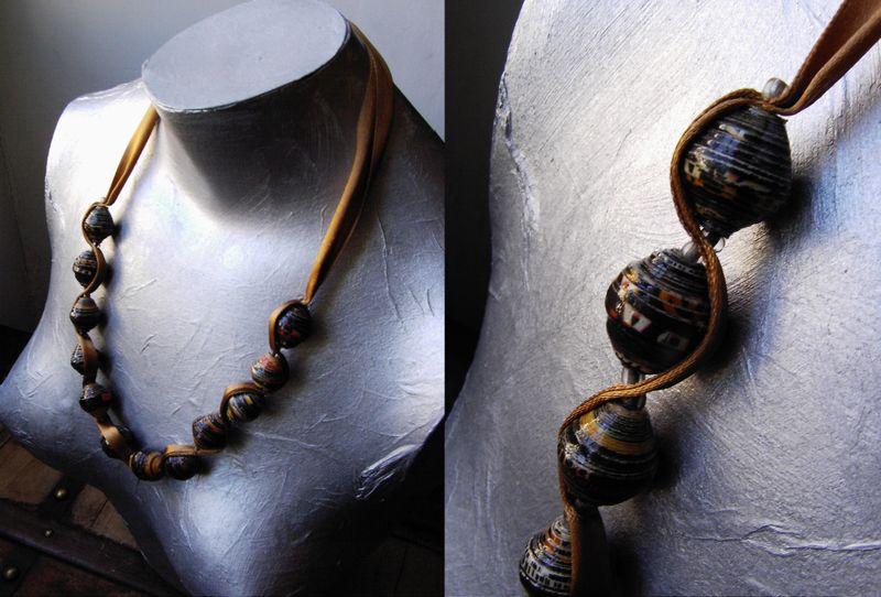 Collier ruban