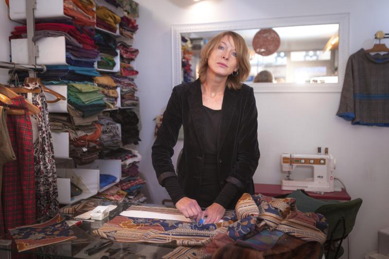 Allison LAURENT (créatrice textiles) ARTISAN de NOTRE-DAME - nov 2017