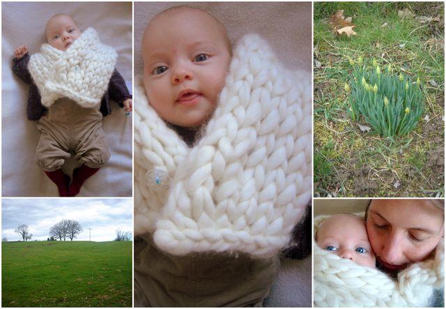 col tricot Ladies à Versailles
